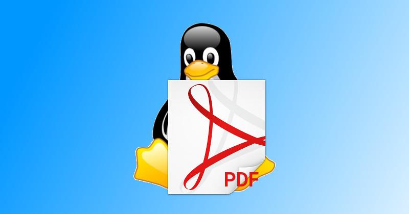 PDF v Linuxu